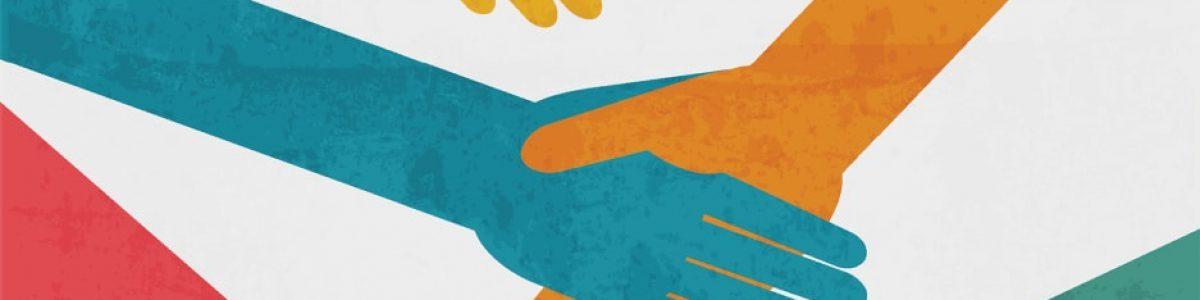 stretta di mano cooperativa sociale solidarietà lavoro